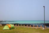 Jeju Gimnyeong beach Camping site