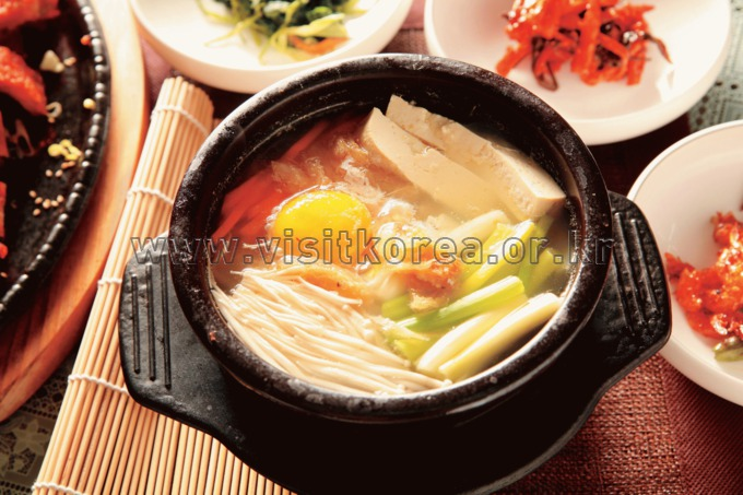 Hwangtaeguk (Dried Pollack Soup)