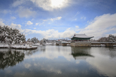 Snowscape of Donggung Palace & Wolji Pond