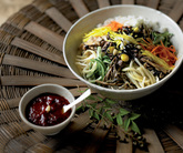 Bibimbap-Rice ..
