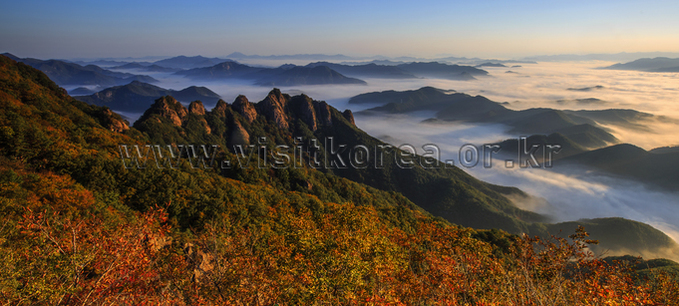 Autumn in Gubongsan Mountain