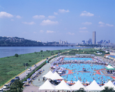 Hangang River Park Swimming Pool 