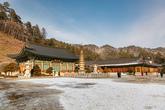 Pyeongchang Woljeongsa Temple