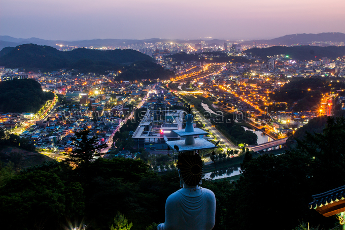 Nightscape of Jeonju