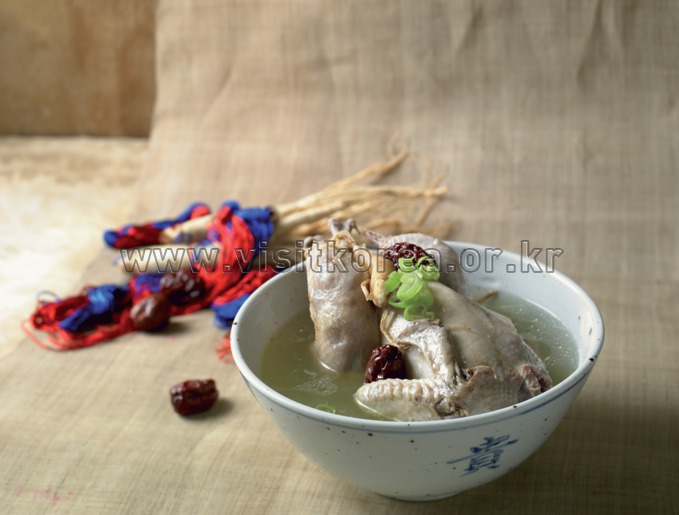 Samgye Tang-Ginseng Chichen Soup 