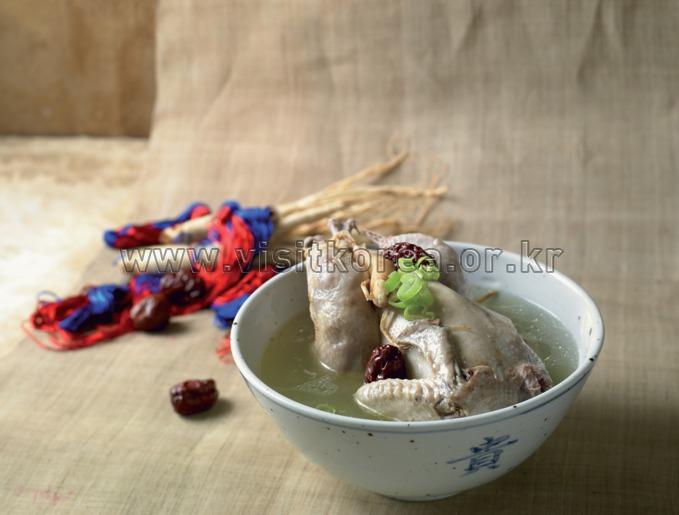 Samgye Tang-Ginseng Chichen Soup