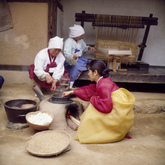 Making Silk from Cocoons