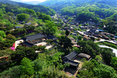 View of Yangdong Village in Gyeongju