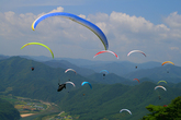 Paragliding in..