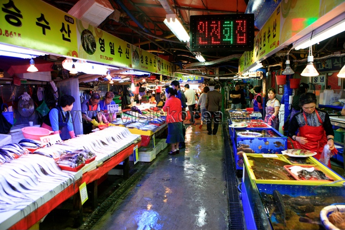 Sorae Fishery Market
