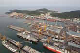 Gwangyang Port..