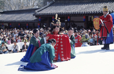 Re-enactment Wedding of Queen Myeongseong