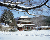Geumsansa Temple in Winter