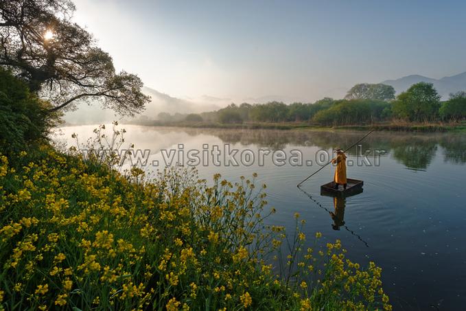 Spring of Boseonggang River