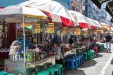 Busan Patbingsu & Danpatjuk Alley