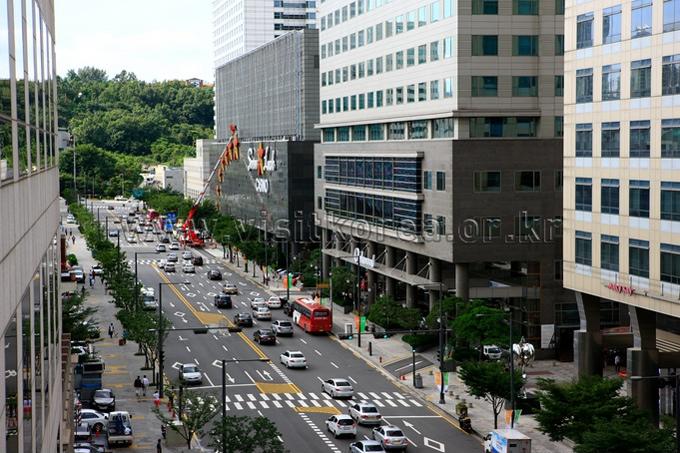 View of Seoul
