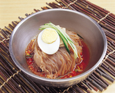 Food, Naengmyeon-Cold Buckwheat Noodles