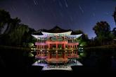 Stars Falling on Wanwoljeong Pavilion