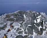 Winter at Mt. Deokyusan