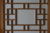 Traditional frame of door