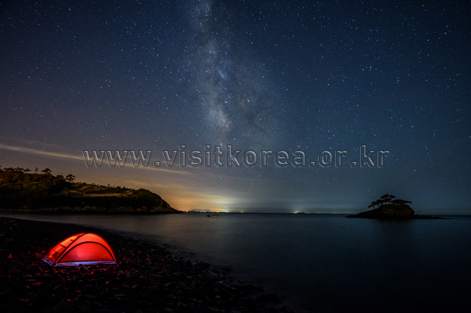 The Milky Way of Solseom Island