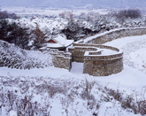 Moyangseong Fortress in Winter