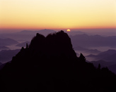 Sunset at Mt. ..
