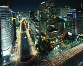 Seoul Night Scene 