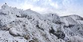Snow Scenery of Hallasan Mountain