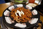 Cheese webfoot octopus fondue