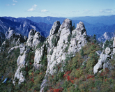 Mt. Seoraksan in Autumn