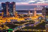 Nightscape of Songdo