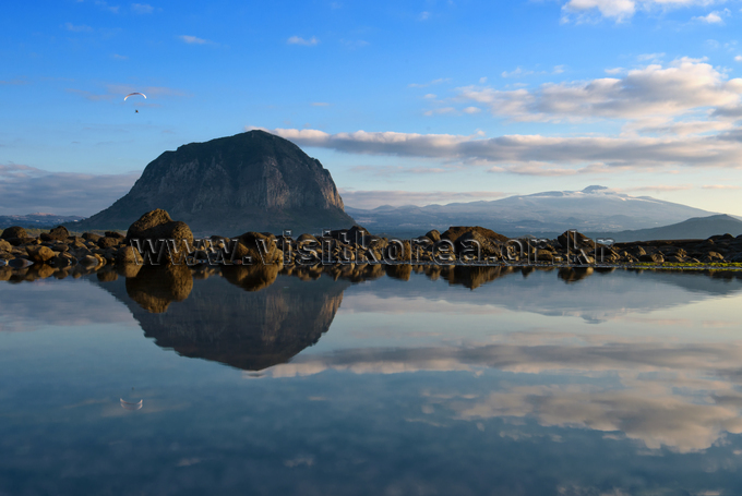 Reflection of Sanbangsan Mountain