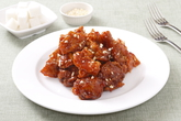 Dakgangjeong (Fried Chicken with soy sauce)