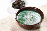 JaeCheopguk (Clear Shellfish Soup), Food