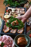 Samgyeopsal(grilled pork loin)