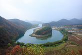 Korean peninsula landform in Yeongwol