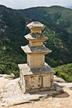 경주남산 용장사곡삼층석탑