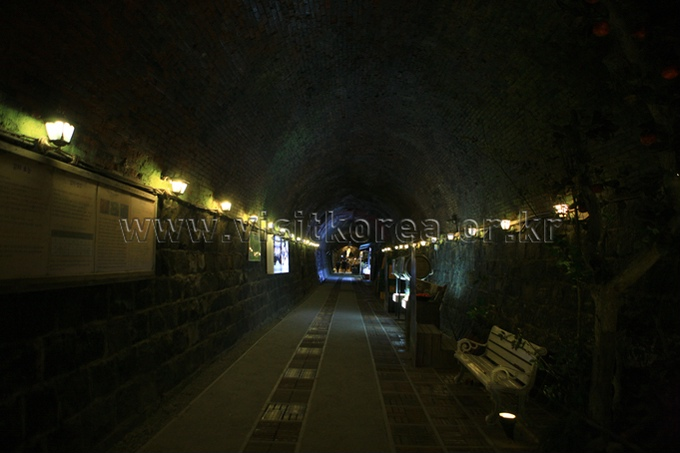 Wine Tunnel in Cheongdo