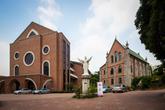 Yongsan theological school and Wonhyoro Catholic church