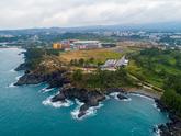 Columnar Joint Along Jungmun and Daepo Coasts, Jeju-do