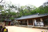 Buddha Triad Carved on Rock in Seosan