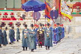 The royal banquet of 1892 ( The ceremony of celebration, The ceremony of  offering wine and foo, New Look of Seoul