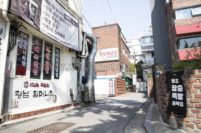 Jangchung-dong Jokbal Alley