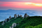 The Verdant Cheongwansan Mountain