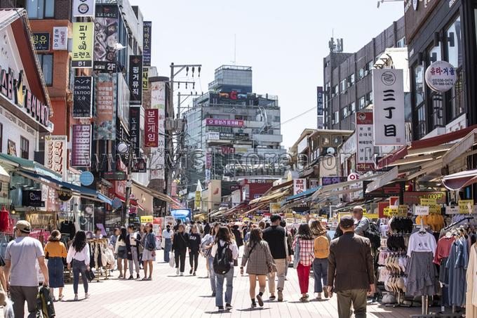 Hongdae(Hongik University Street)
