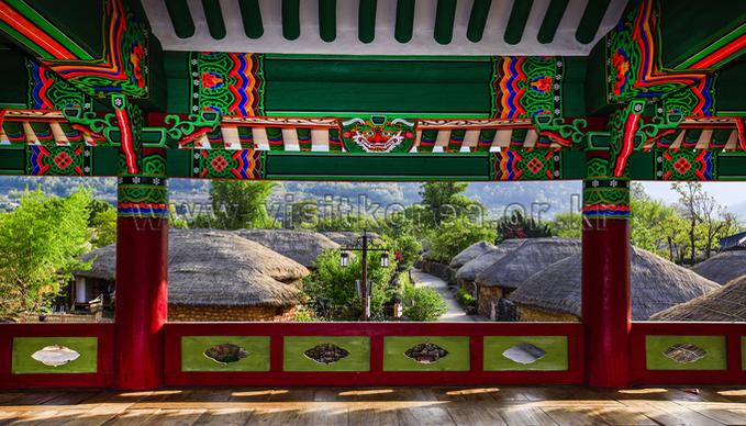 View of Naganeupseong Fortress