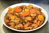Andong-style Braised Spicy Chicken with Vegetables