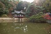 Buyongji pond of Changdeokgung Palace