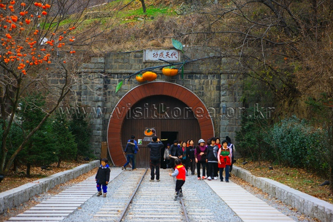 Wine Tunnel in Cheongdo